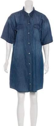 Etoile Isabel Marant Short Sleeve Knee-Length Dress
