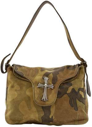 Chrome Hearts Khaki Leather Handbags