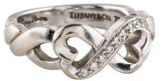 Tiffany & Co. Diamond Loving Heart Ring