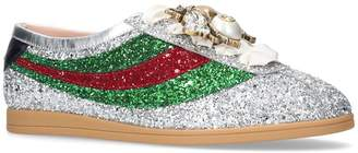 Gucci Beetle Glitter Sneakers