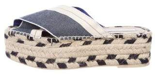 Stella McCartney Espadrille Platform Sandals