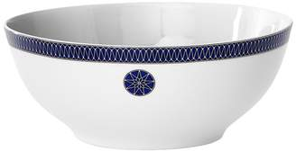 Bloomingdale's Royal Limoges Blue Star Rimmed Salad Bowl