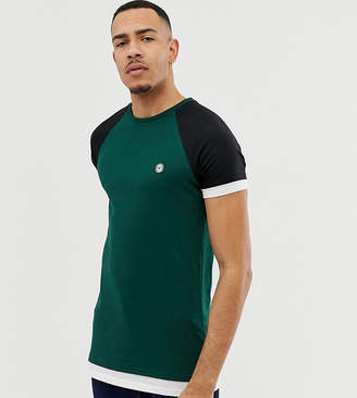 Le Breve TALL Raglan Layer T-Shirt