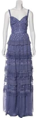 Needle & Thread Embroidered Maxi Dress