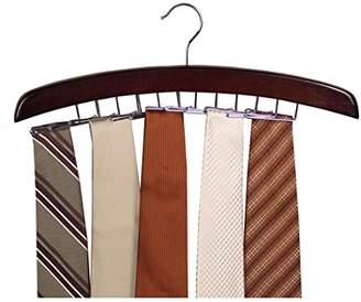 Richard's Homewares Richards Homewares Dark Walnut Tie Hanger 24 Clips