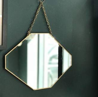 Co The Forest & Gold Framed Octagonal Mirror