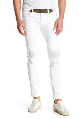 J Brand Bearden Moto Slim Fit Jeans