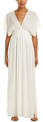 Ella Moss Women's Piana V Neck Maxi Dress