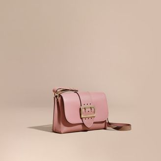 Burberry The Buckle Crossbody Bag in Leather $1,295 thestylecure.com