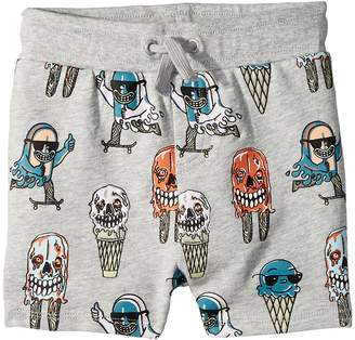 Stella McCartney Ice Cream Monster Print Knit Shorts Boy's Shorts