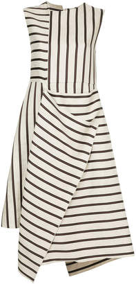 ASTRAET contrast stripe dress
