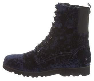 Donald J Pliner Velvet Carmen Boots