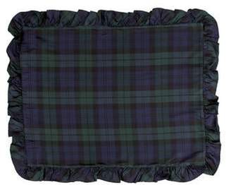 Ralph Lauren Silk Plaid Pillow Sham w/ Tags