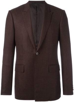 Givenchy patterned button front blazer