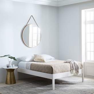 west elm Simple Bed Frame - Tall (White)
