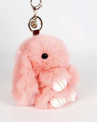 Belle & Bloom Faux Fur Bunny Key Ring