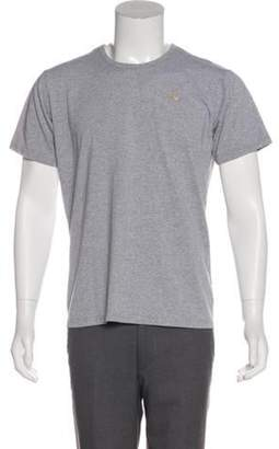Burberry Nova Check-Lined T-Shirt grey Nova Check-Lined T-Shirt