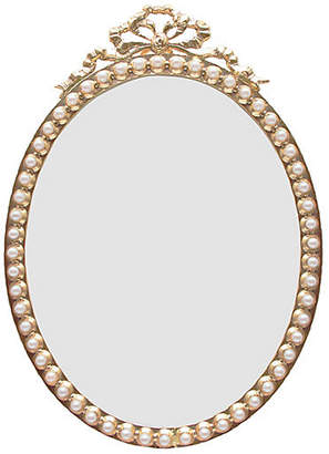 One Kings Lane Calliope Oval Picture Frame - Gold