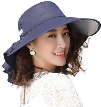c0a4008c8a7 Siggi Comhats UV Protection Sun Hats for Women Summer Gardening Fishing  Hiking Travel Shade Hat Wide