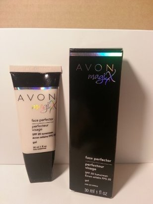 Avon Face Perfector Spf 20 Sunscreen, New Packet $7.35 thestylecure.com