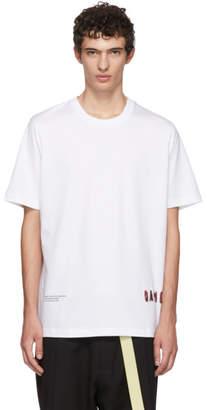 Oamc White Fabrik T-Shirt