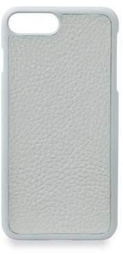 GiGi New York Grey Pebbled Leather iPhone 7 Plus Case