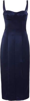 Alexis M'O Exclusive Yates Slit Cocktail Dress