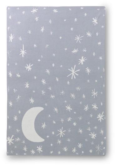 DwellStudio Galaxy Dusk Graphic Knit Blanket