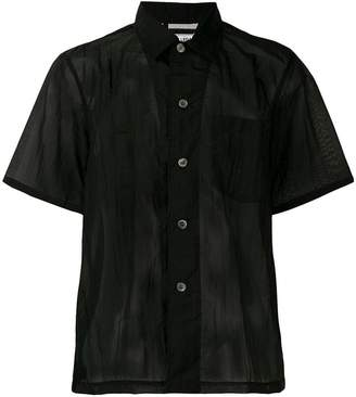 Our Legacy sheer black shirt