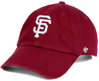'47 San Francisco Giants Cardinal and White Clean Up Cap