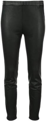RED Valentino studded detailing cropped trousers