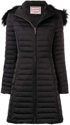Hunter padded midi coat