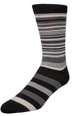 Cole Haan Stripe Crew Socks