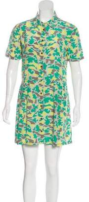 Equipment Silk Camouflage Dress