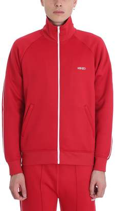 Kenzo Zipper Red Viscose Jacket