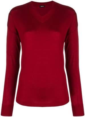 Aspesi fine knit V-neck sweater