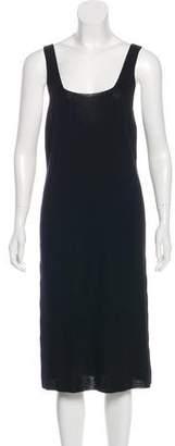 Donna Karan Wool-Blend Midi Dress