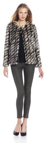 Twelfth Street by Cynthia Vincent Women's Faux Fur Jacket