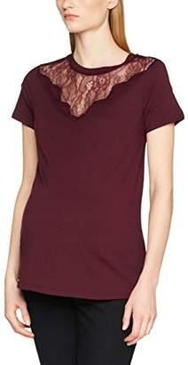 New Look Maternity Women's Lace Yoke T-Shirt