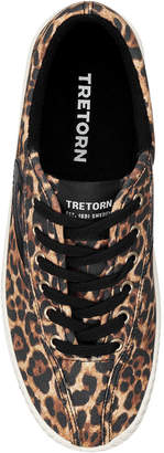 Tretorn Nylite Bold Leopard Sneakers