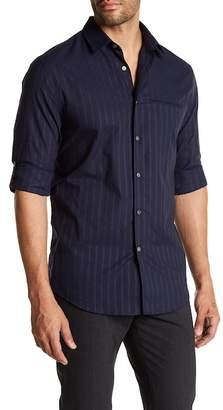 John Varvatos Collection Slim Fit Tab Sleeve Shirt