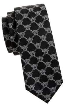 Versace Diamond Logo Silk Tie