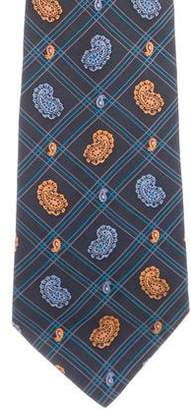 Etro Abstract Print Silk Tie
