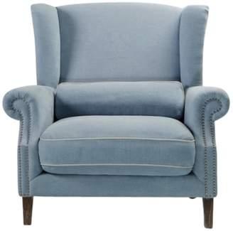 Celine Villa Maison Ii Love Chair Linen Blue