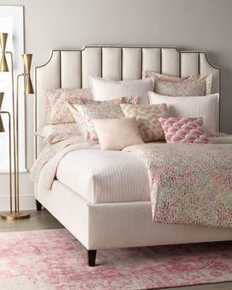 Bernhardt Bayonne Channel Tufted Queen Bed