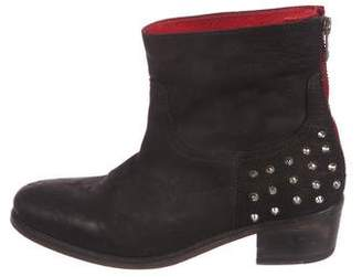 Zadig & Voltaire Studded Nubuck Boots