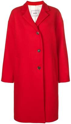 Mauro Grifoni oversized single-breasted coat