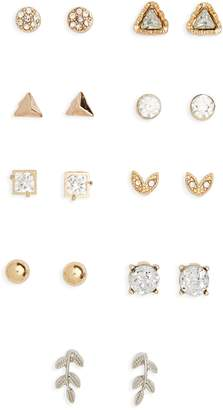 BP 9-Pack Stud Earrings
