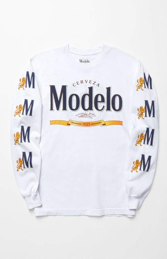 PacSun null Modelo Long Sleeve T-Shirt