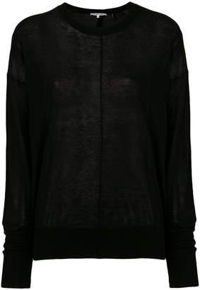 Helmut Lang centre seam sweater